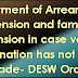 DESW Order- Payment of Arrears of Pension and family pension in case valid nomination has not been made