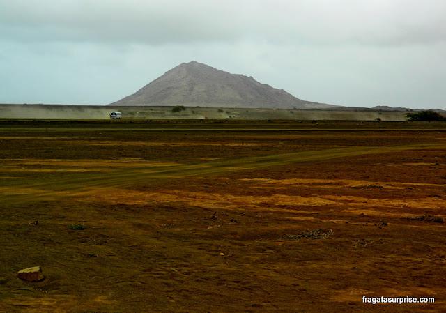Morro Grande, maior elevação da Ilha do Sal