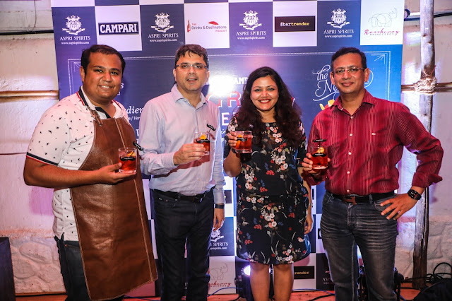 Aspri Spirits celebrated 2nd year of Negroni Week in India