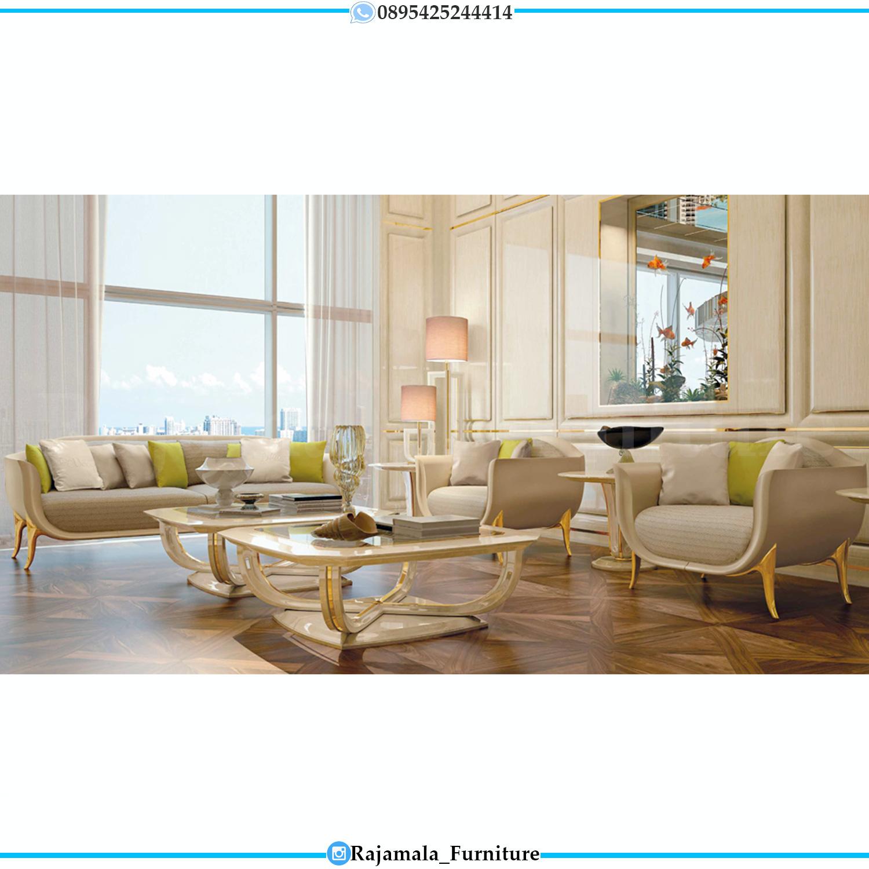 Sofa Tamu Mewah Minimalis Modern Luxury Color Furniture Jepara RM-269