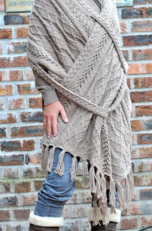 Lorena - Rectangle Shawl - Knitting Pattern