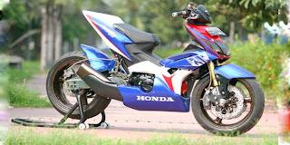 motorcycle modifications honda blade