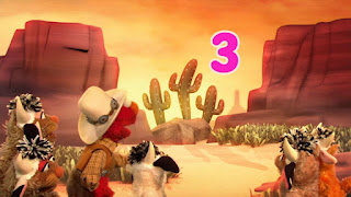 Double Double Dude Dude Ranch Ranch, the Count By Two Kid, Elmo the Musical Cowboy the Musical, Sesame Street Episode 4313 The Very End of X season 43