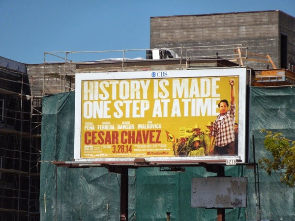 Cesar Chavez movie billboard