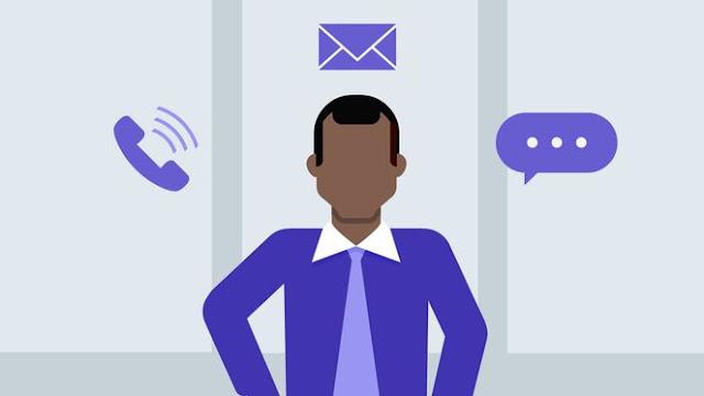Etiqueta empresarial: Teléfono, email y mensajes V2B MEGA