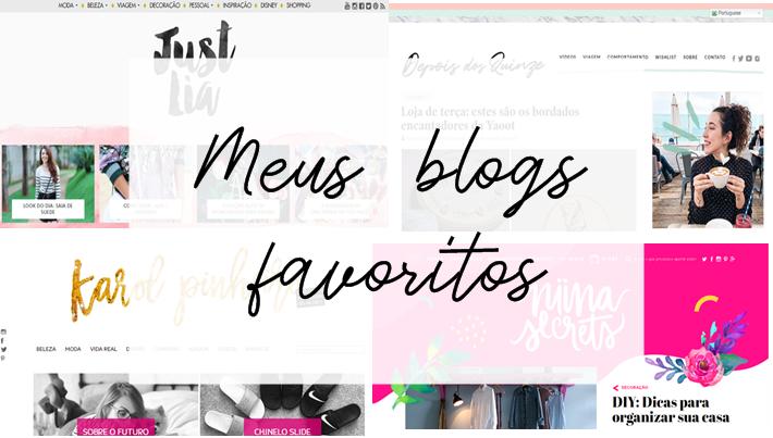 Meus blogs favoritos