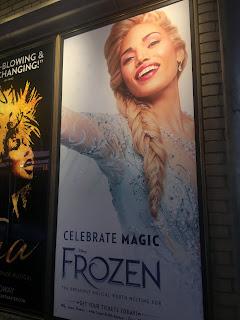 Ciara Renee Frozen Broadway Shubert Alley Poster