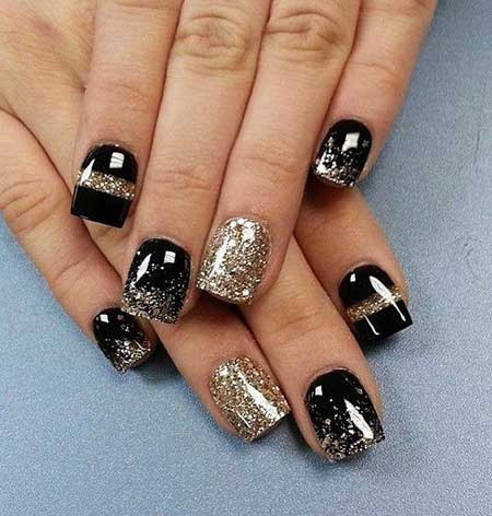 nail art capodanno tutorial nail art capodanno consigli beauty beauty blog beauty blogger beauty tips new year's eve nail art mariafelicia magno fashion blogger colorblock by felym
