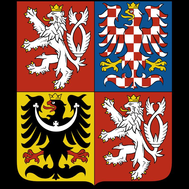 Logo Gambar Lambang Simbol Negara Ceko PNG JPG ukuran 800 px