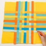 Ribbon Pillow - Step 4