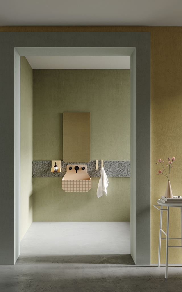 Frieze Bathroom Collection by Marcante-Testa for Ex.t