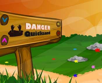 Juegos de Escape - Quick Sand Escape