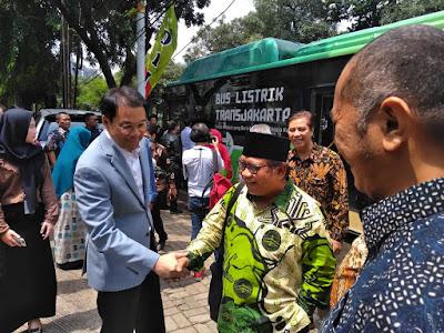 Wakil Ketua DPR RI Aziz Syamsyuddin dan Ketua Umum LDIII