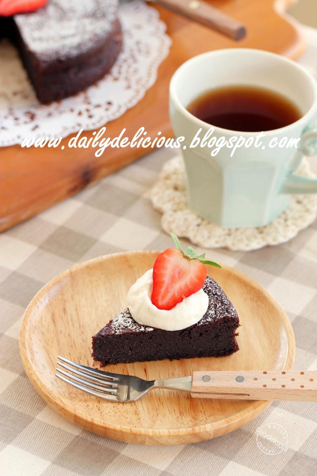 No Flour Chocolate Cakes
