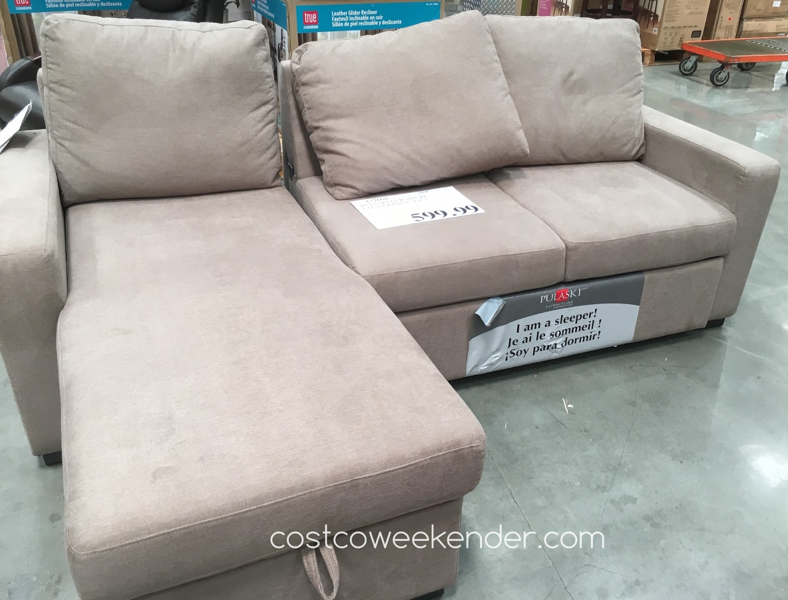 Pulaski Furniture Convertible Sofa Costco Weekender