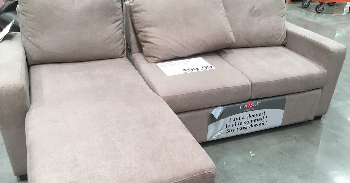 Costco Weekender Pulaski Furniture Convertible Sofa