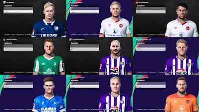 PES 2021 2.Bundesliga Facepack by Heywips