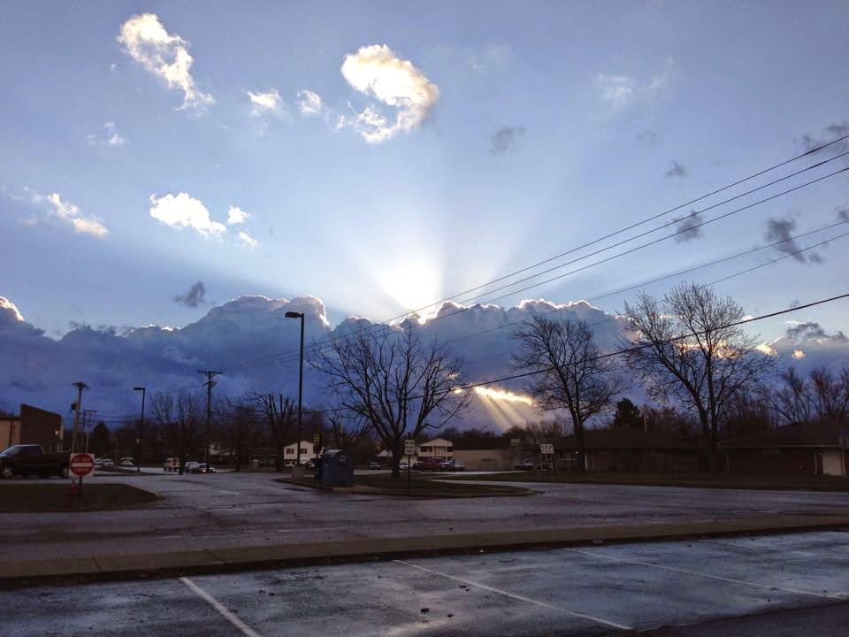 sun rays taken by Stacy McKitrick