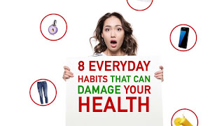 8 Everyday Habits That Damage Your Health