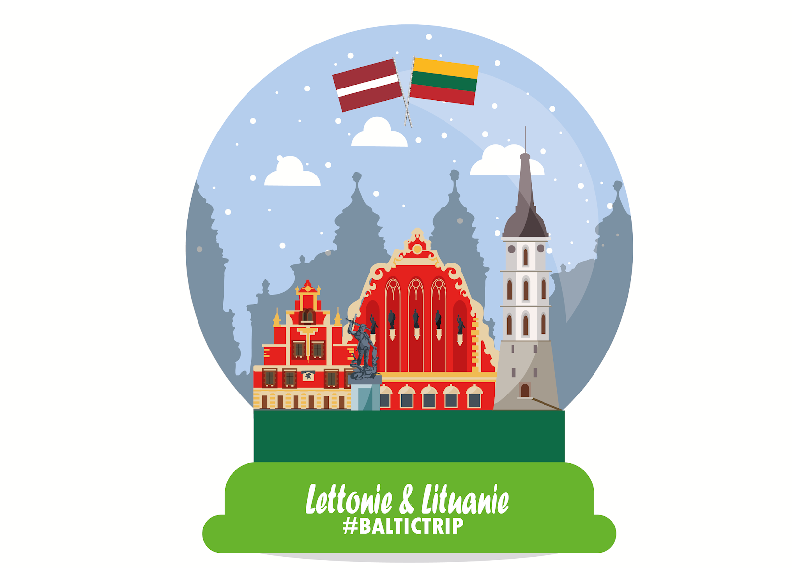 My Travel Background : baltic trip, à la découverte de la Lettonie et de la Lituanie
