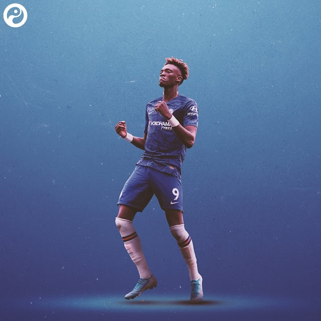 Abraham 1st Englishman to reach 15 goals for Chelsea in one season since Lampard