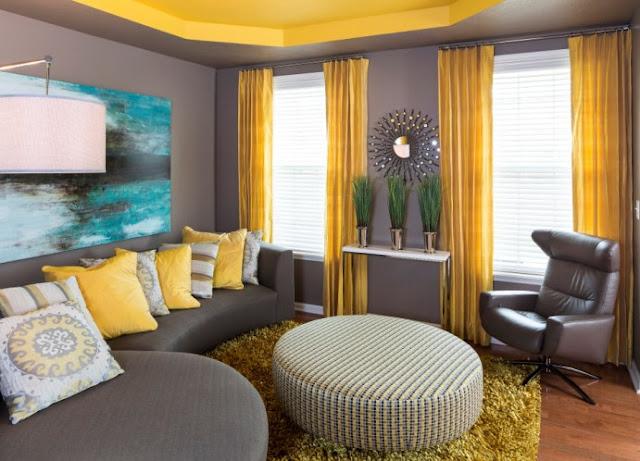 كيفية اختيار  الستائر الملونة مع ورق الحائط والأثاث؟ نصائح مهمة