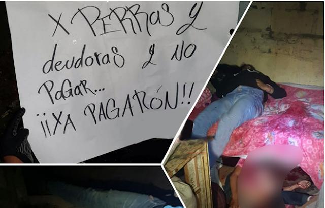 """COBARDIA CRIMINAL """"EJECUTA 5 MUJERES,JOVENCITAS y NIÑAS"""" en EDOMEX."""
