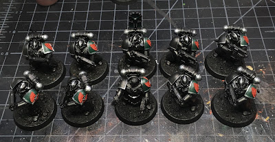 Heresy Era First Legion Dark Angels Tactical Squad WIP mark IV armor