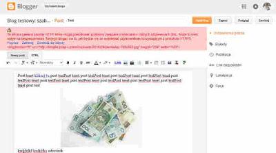 Błąd pojawiający się przy edycji posta/strony: ta strona zawiera zasoby http
