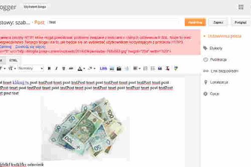 Jak usunąć, poprawić błędy związane z HTTPS na blogu Blogger