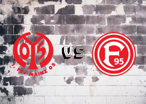 Mainz 05 vs Fortuna Düsseldorf  Resumen