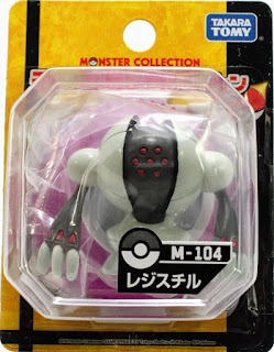 Registeel figure Takara Tomy Monster Collection M series