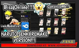 Naruto Senki Remake Version (Unity Engine) Apk