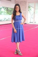 Divya Nandini stunning Beauty in blue Dress at Trendz Exhibition Launch ~  Celebrities Galleries 075.JPG