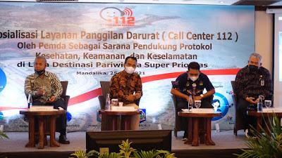 Sosialisasi Call Center 112