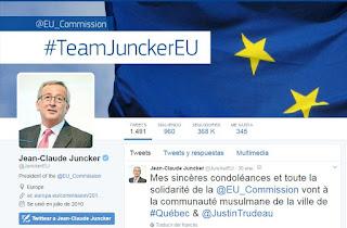Página Facebook Juncker 2017
