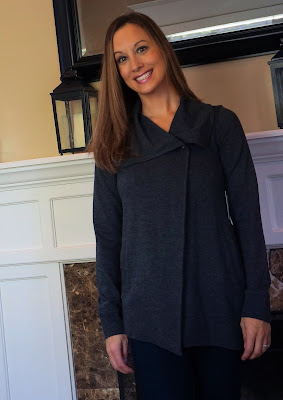 Kensie Mally Ponte Jacket Stitch Fix October 2015