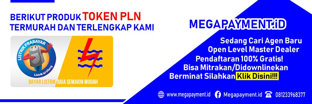 Token Listrik PLN - MEGA PAYMENT