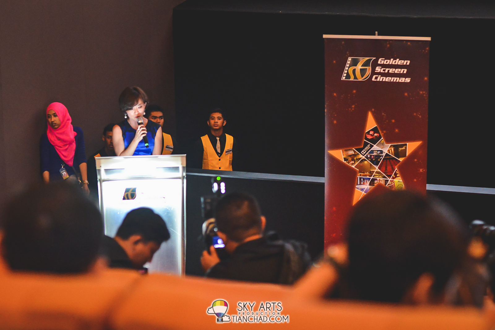 GSC Chief Executive Officer, Ms Koh Mei Lee giving appreciation speech