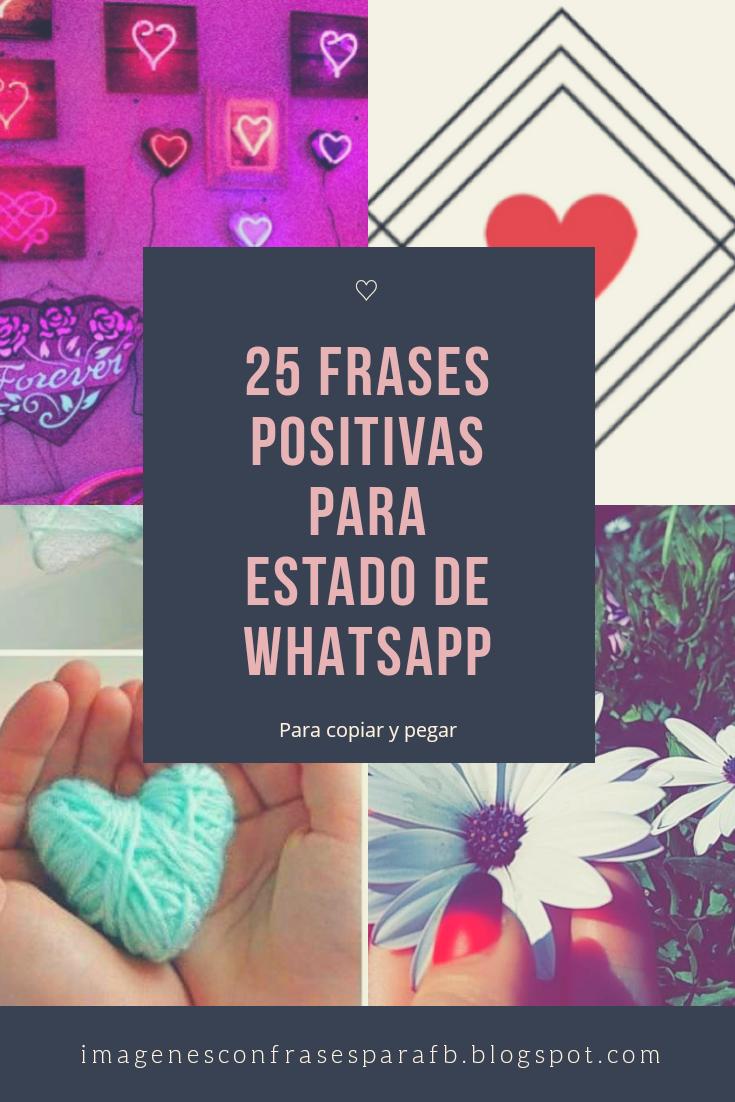 Imagenes Bonitas Y Pensamientos Positivos 25 Frases