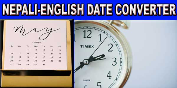 Nepali date converter with day