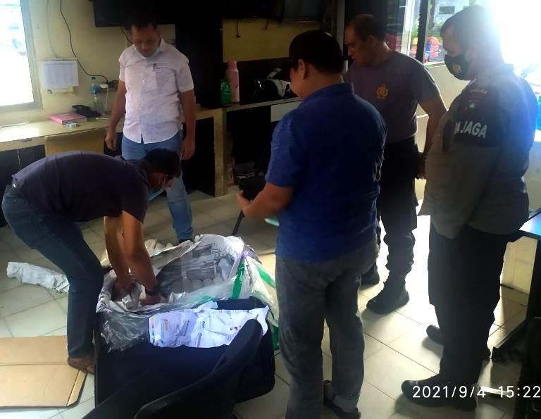 2 Pelaku Penyeludupan dan 62 Bungkus Benih Lobster dari Jakarta, Berhasil Diamankan Polda Kepri
