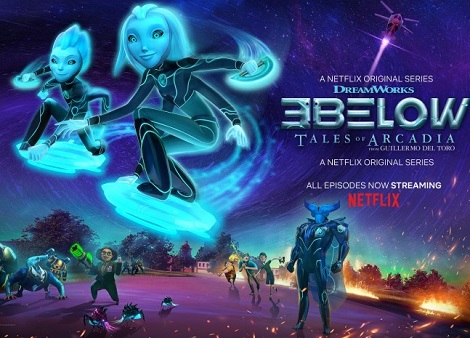 Download 3Below: Tales of Arcadia (2019) S02 Dual Audio [Hindi+English] 720p + 1080p WEB-DL ESub