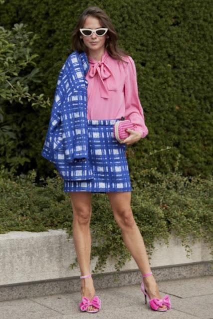 Модные образы яркой одежды 2