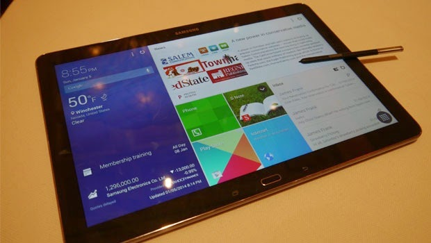 First Impressions of Samsung Galaxy Note Pro 12.2