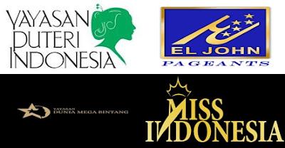 logo kontes kecantikan