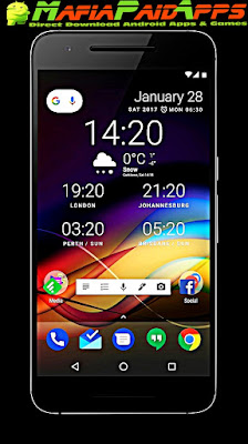 Chronus Home & Lock Widgets Apk MafiaPaidApps