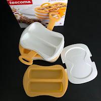 Moule et presse en silicone pour barres de céréales Tescoma