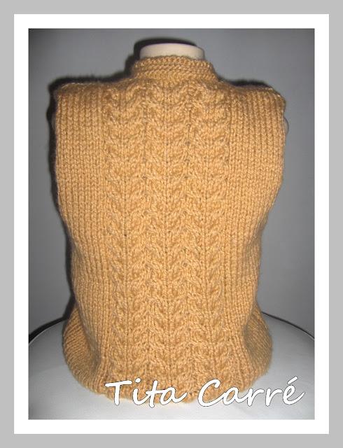 Colete Atena em tricot