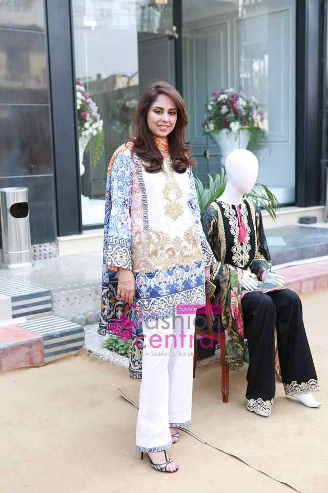 Saira Rizwan launching Spring Collecion 2016